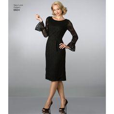 New Look Pattern 6824 Misses' Dresses