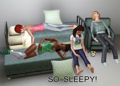 Sleeping Pose Pack