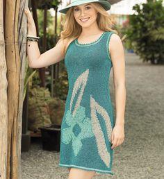Платье с цветочным мотивом