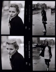 Kate Moss by Dana Lixenberg, 1994