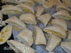 Fotorecept: Bryndziaky z lístkového cesta Meat, Chicken, Food, Hampers, Meals, Cubs
