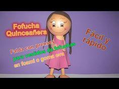 Falda para fofuchas Nueva Técnica Falda con prenses para fofuchas quince...