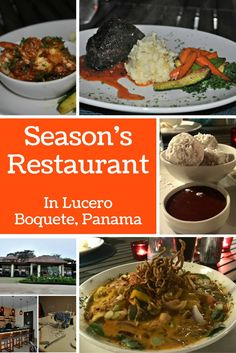 Season's Restaurant is located at the Lucero Country Club, only minutes from Boquete, Panama. Their menu is full of world class flavor combinations while the plate presentation is dazzling. Save room for the Doughnuts with Strawberry Sauce.