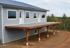 Concrete Deck Footings