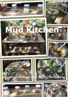 Every Outdoor area needs a Mud Kitchen!