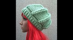 HodgePodge Crochet Presents: A Girl's Best Friend Diamond Pattern Hat - YouTube