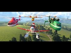 """Heroes"" Featurette - Planes: Fire & Rescue"