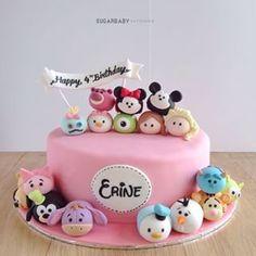 tsum tsum cake