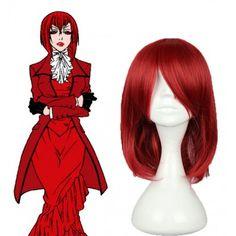 Black Butler Madam Red cosplay wig,Black Butler cosplay costume,ciel cosplay costume,cheap cosplay costumes,cosplay wigs comes from www.eshopcos.com