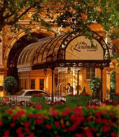 The Landmark London is within a short distance from the Oxford Circus, the Piccadilly Circus, and the theater district. It is a classic example of Victorian Gothic Architecture, most apparent on the exterior, which features icons, red brickwork, and beautiful arch detailing. Inside the hotel, the centerpiece is the eight-story glass atrium -CustomTravelSLC.com