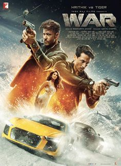 War is an Indian Bollywood Action Thriller Movie Starring Hrithik Roshan, Tiger Shroff, Vaani Kapoor Hindi Movies, Bollywood Movies, Movies 2019, War Movie, Download Movies, War Movies, Movies Online, Movies To Watch Online, Streaming Movies