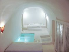 'Lydia', Luxurious Cave Villa, Pool, Panoramic View to CalderaVacation Rental in Oia  from @HomeAway! #vacation #rental #travel #homeaway