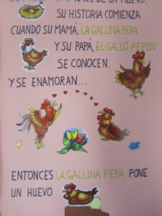 Mi aula de Infantil: Proyecto Pollo Pepe