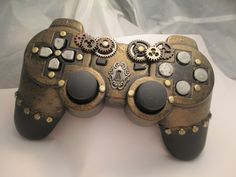 Steampunk Ps3 Controller ∙ Creation by Zombicology on Cut Out + Keep