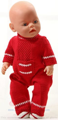 Knitting pattern for dolls clothes - Knit great doll clothes with a vintage pattern