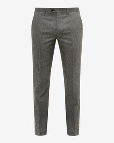 From casual chinos to smart classics, discover Ted Baker's collection of designer men's pants. Slim Fit Dress Pants, Mens Dress Pants, Men Dress, Men's Pants, Mens Wool Trousers, Wool Pants, Nigerian Men Fashion, African Men Fashion, Mens Fashion Suits