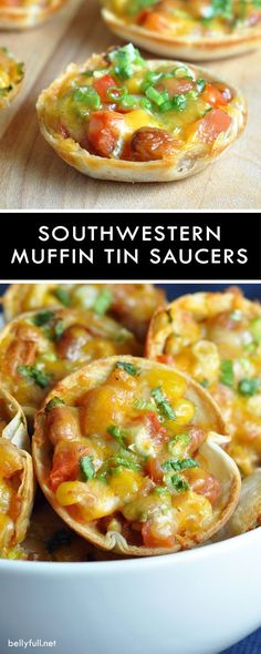 These bite-sized Mexican appetizers are super easy, cheesy, and completely delicious! Perfect for lunch or game day!
