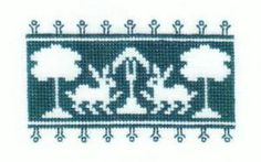 History Lesson: Assisi Needlework Patterns and Designs: Voided Work