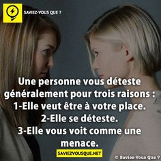 Saviez Vous Que? | Category Archive | Saviez-vous que ? Good To Know, Did You Know, Respect Life, Quote Citation, French Quotes, Positive Attitude, Words Quotes, Best Quotes, Affirmations