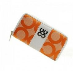 Coach Sutton Op Art Checkbook Purse Golden U08020             Deals price:$48.3   http://www.gotcoachoutlet.com/