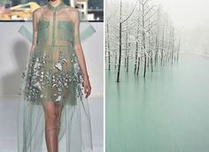 mode-robe-nature-etang-gele Delpozo