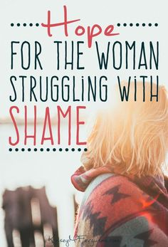 Is the shame of your sin holding you back from living fully? Find out why it's time to let go of the humiliation!