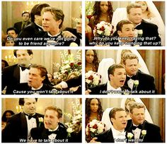 "Because Cory's wedding made Shawn freak out. | 19 Reasons Cory And Shawn Were The Most Important Couple On ""Boy Meets World"""
