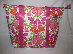 Vera Bradley LILLI BELL Beach~Pool~Cooler Bag New With Tags USA Seller in Clothing, Shoes & Accessories | eBay