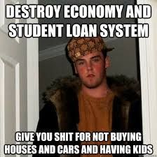 Image result for student loan memes