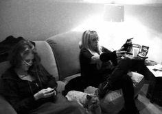Stevie Nicks with Lori Nicks