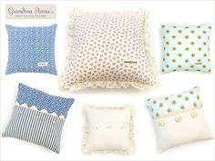 Grandma Anna's Pretty Little Pillows | Sew4Home