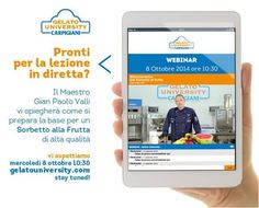 Corsi On-Line | Carpigiani Gelato University