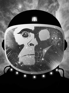 Chimps in space...need I say more?