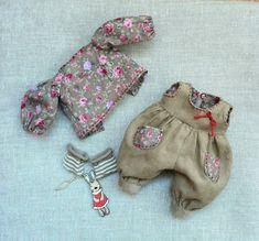 Мастерская игрушек. Handmade, рукоделие. Sewing Doll Clothes, Sewing Dolls, Doll Clothes Patterns, Barbie Clothes, Clothing Patterns, Doll Closet, Doll Wardrobe, Bitty Baby, Waldorf Dolls
