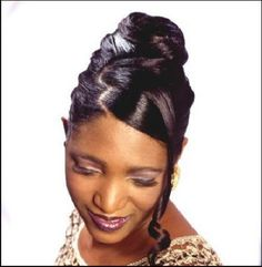 black updo hairstyles - Google Search