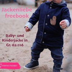"""aa7a6270c6 Die Kinderjacke """"Jackenliebe"""" lässt sich schnell nähen und ist sowohl für  Anfänger als auch"""