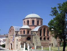 TRAVEL'IN GREECE I Church of the Monastery of Panagia Kosmosotira in #Feres near #Alexandroupoli, #Greece