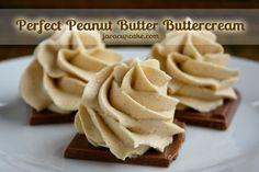 The Perfect Peanut Butter Buttercream - JavaCupcake