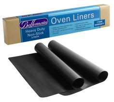 Oven Liner Heavy Duty by Bellemain  2 Pack for Electric Gas and Microwave Ovens up to 30 ** You can get additional details at the image link. (This is an affiliate link)