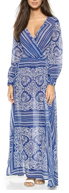 Beautiful maxi dress for summer