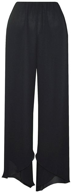 Black Wave Pants