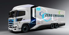 Toyota Motor Corporation (Toyota) and Hino Motors, Ltd. (Hino) have agreed to jointly develop a heavy-duty fuel cell truck, and to proceed with initiatives toward its practical use through verification tests and other means. Tesla Motors, Toyota, Aichi, Auto Journal, Co2 Emission, Fuel Cell Cars, Fuel Additives, Electric Truck, Hydrogen Fuel