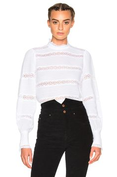 Image 1 of Isabel Marant Etoile Ria Vintage Top in White