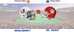 Auburn vs Clemson live Stream