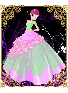 Winx club - Abiti da principesse - ballo