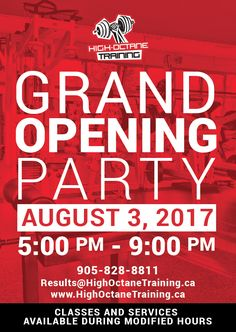 Join Team Avazera on August 3rd from 5 to 9 pm for High Octane Training's grand opening! We'll be there sampling our delicious feel-good products while demonstrating how easy it is to incorporate our organic superfoods and loose-leaf tea wellness blends within your health/fitness goals and routines. See you all there!