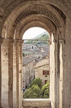 Gubbio, Umbria - Italy. I love this place!! Such a fascinating town :)                                                                                                                                                                                 More