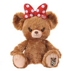 Disney UniBEARsity pudding Minnie Mouse Ribbon stuffed plush Doll Toy Japan New Plush Dolls, Doll Toys, Disney Store Japan, Doll Japan, Hello Kitty Collection, Disney Plush, Disney Aesthetic, Child Doll, Online Gifts