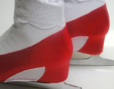 Ruby Red Slippers Skate Boot Covers / Figure by Sk8Gr8Designs