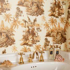 SUMATRA Wallpaper Off White / Taupe